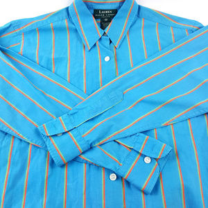 Lauren Ralph Lauren Womens Stripe 4 P Shirt
